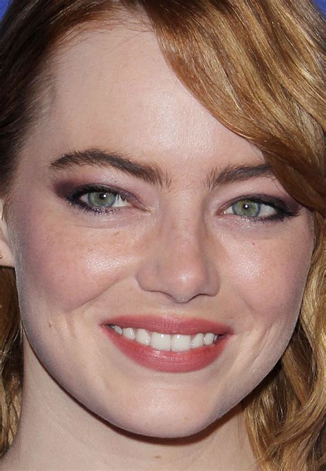 emma stone close up from emma to natalie 9 of the most radiant beauty looks