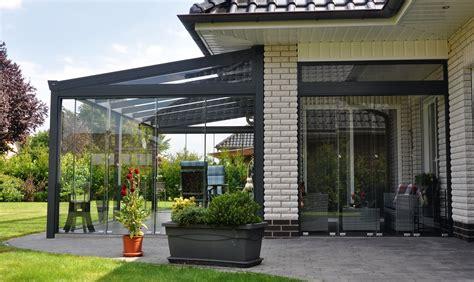 Prezzi Verande In Alluminio E Vetro - tende invernali tende veranda per balconi e terrazzi con