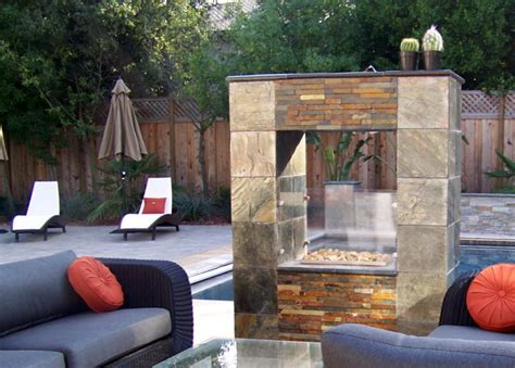outdoor see through fireplace outdoor see through fireplace