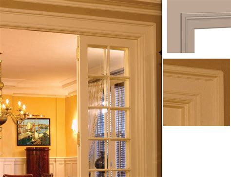 colonial door trim door trimming ideas for home renovators