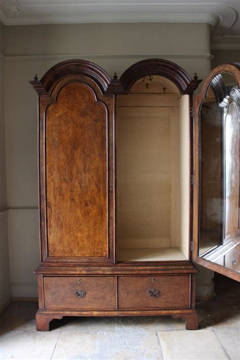english country house walnut armoire   queen