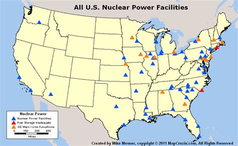 nuclear power plant map usa on the colorado and mississipi rivers toxicity falloutlore