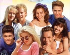 beverly hills 90210 original cast members original 90210 cast jennie garth luke perry and jason