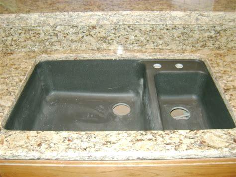 Composite Granite Sink Care by Black Granite Composite Sink Care Hawk