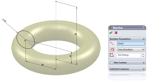 solidworks tutorial revolved boss boss base revolve feature learnsolidworks com