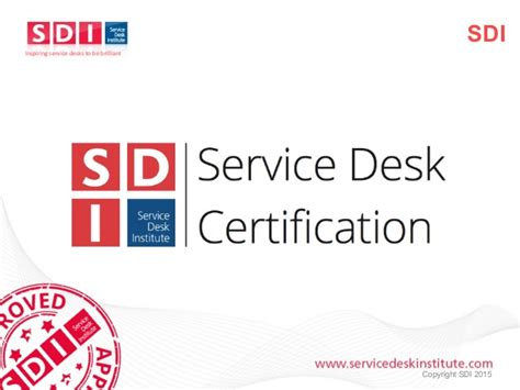 Sdi Service Desk Manager by Continual Service Improvement A Journey To Service