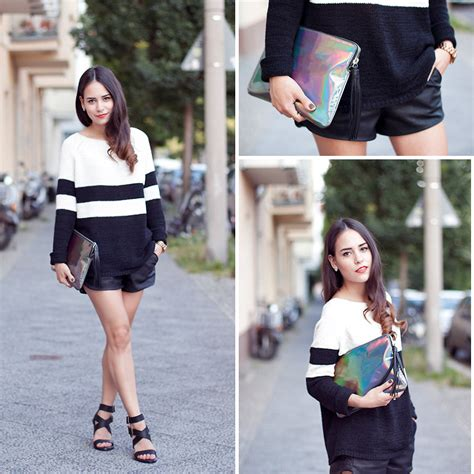 jeanelly concepcion zara trench coat marc by clutch signature sole pumps i teetharejade zara sweater other stories clutch zara high heels zara leather shorts