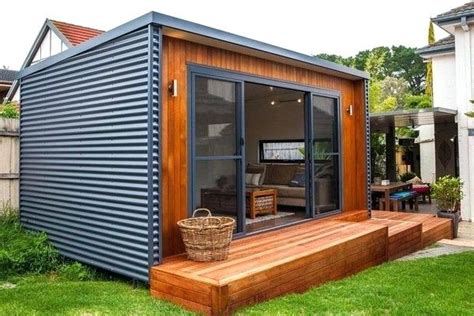 Modern Sheds Australia by Garden Shed Ideas Backyard Retreat Modern Shed Interior