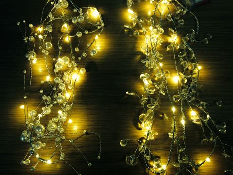 2m warm wired led garland christmas party string outdoor