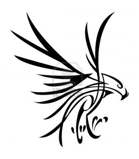 tribal hawk tattoo image result for http us 123rf 400wm 400 400
