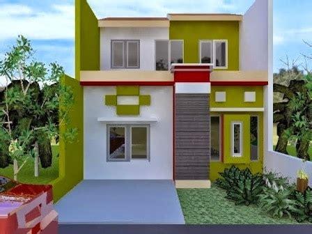 warna cat rumah minimalis modern bagian depan