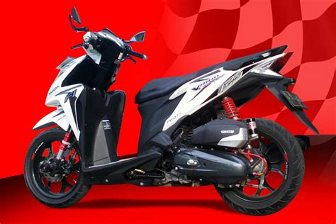 As Shock Vario 125 Pgm Fi As Shok Vario 125 Injection Crome modifikasi motor honda vario cbs autos post