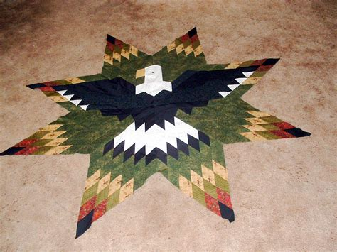 quilt pattern eagle quilts n quirks lone star eagle project