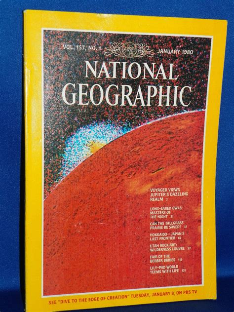 National Geographic 1971 Jual Satuan national geographic magazine historical collectible january 1980 vol 157 no 1 ebay