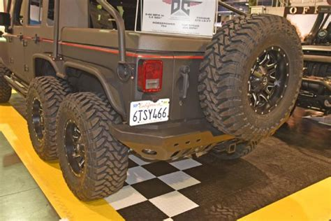 jeep hellcat 6x6 hellhog 754 hellcat hp in a jeep 6x6