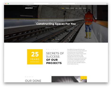 bootstrap templates for construction company 10 free bootstrap construction company website templates 2018