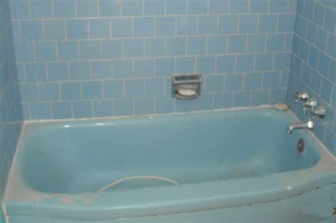 blue bathtub before after gallery bathtub refinishers