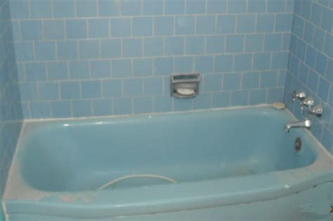 Blue Bathtub by Before After Gallery Bathtub Refinishers