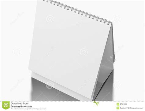 desk blank calendar stock photo image 27018600