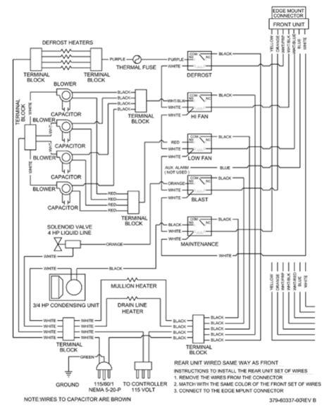 wiring schematic for refrigerator defrost timer schematic