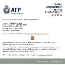 Ukpc Appeal Letter Template Australian Federal Warn Of Scam Traffic Emails Abc News Australian Broadcasting
