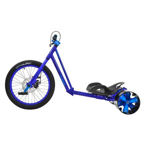 triad drift trike notorious 2 20 quot blue gt new the blue drif