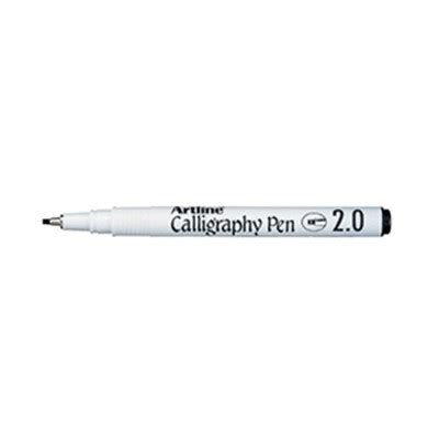 Artline Pulpen Kaligrafi 20 Calligraphy Marker 1 artline ek 242 calligraphy pen 2mm black