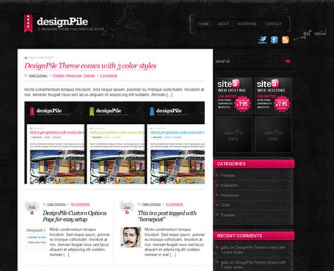 new themes in wordpress 60 awesome new wordpress themes