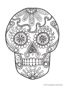 dia de los muertos skeleton coloring page day of the dead and life sized skeleton coloring sheets
