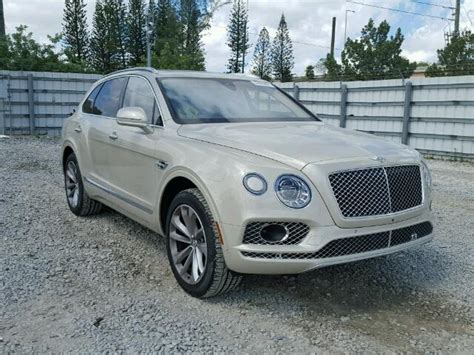 Bentley For Sale Usa 2017 Bentley Bentayga For Sale Fl Miami Central