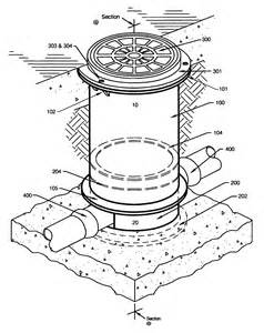 Exterior Corbel Patent Us7223051 Removable Maintenance Port With Method