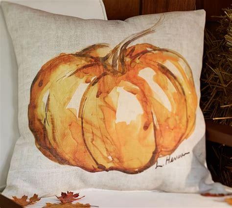 Pottery Barn Pumpkin Pillow by Painted Pumpkin Patch Indoor Outdoor Pillow Pottery Barn