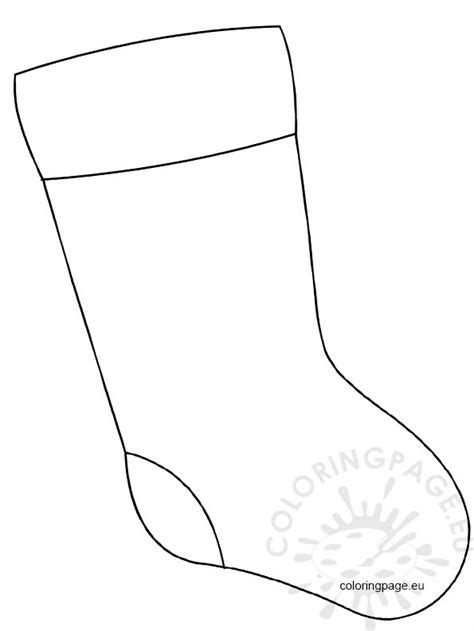 large christmas stocking coloring page christmas stocking large coloring page