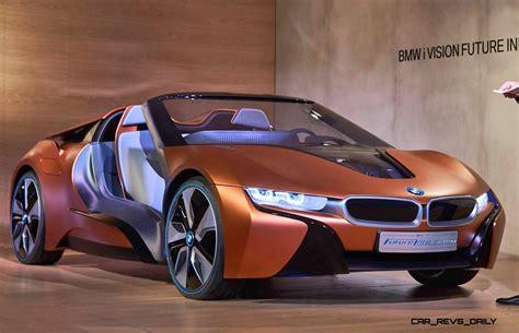 future bmw i8 2017 bmw i8 spyder teased via bmw i vision future
