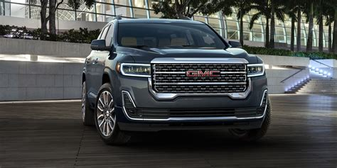 Gmc Suv 2020 by Suvs Crossovers The 2020 Gmc Acadia Redesigned For 2020
