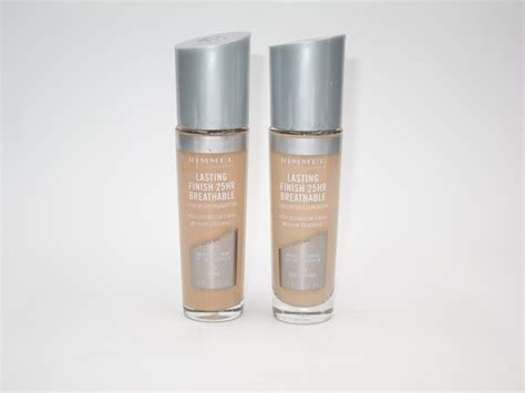 Rimmel Foundation rimmel lasting finish breathable foundation review