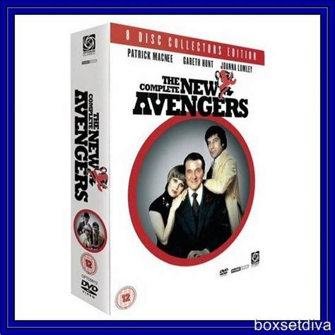 the avengers complete series 4 brand new blu ray ebay the new avengers collectors boxset compete series 1 2 brand new dvd