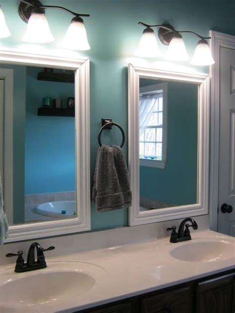 long mirror with lights bathroom idea i don t like the giant mirror and long set