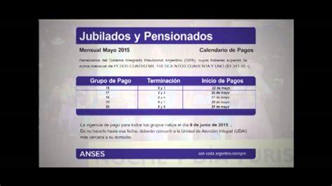 Cronograma De Pago Jubilados Y Pensionados Youtube | cronograma de pago jubilados y pensionados youtube