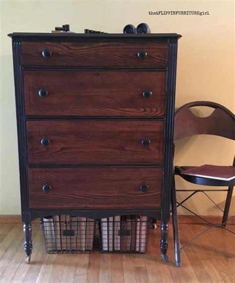 antique black walnut dresser custom gel stain colored dresser general finishes design