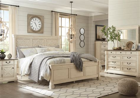Bolanburg Bedroom Set by Bolanburg King Panel Bedroom Set Overstock