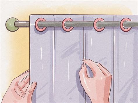 how to hang curtains in a bay window how to hang curtains in a bay window 13 steps with pictures