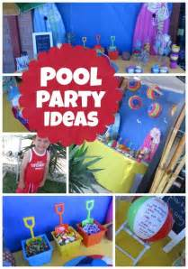 pool party ideas celebrate a summer birthday with a pool party spaceships