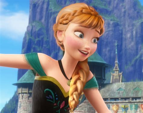anna from frozen hairstyle princess of arendelle