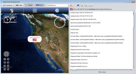 open visual traceroute  network tools fileeaglecom