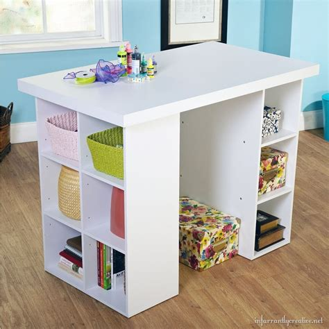 craft table with storage for craft tables you can buy instead of diy