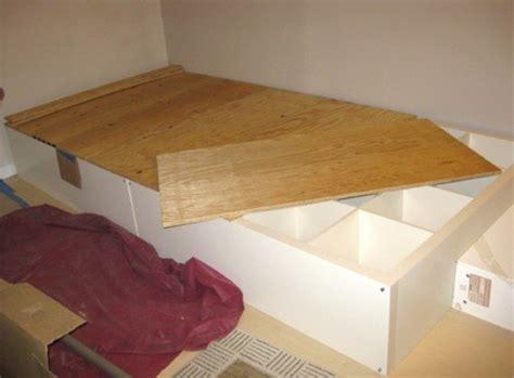 diy      storage bed   repurposed