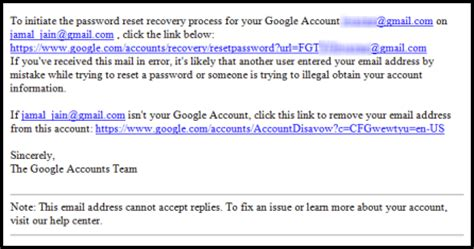 gmail reset link stainduqw password recovery email gmail account