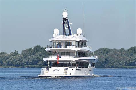 yacht joy yacht joy underway post launch yacht charter