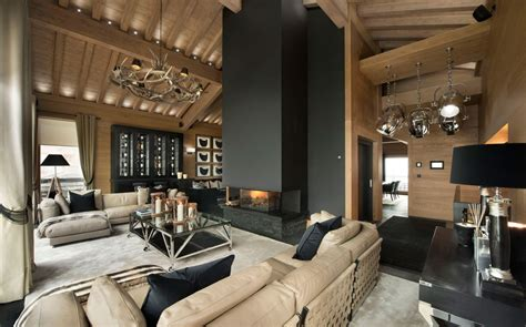 Chateau Style House Plans by Inspiring Modern Chalet Interior Design From French Alps